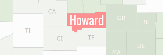 Howard County Map