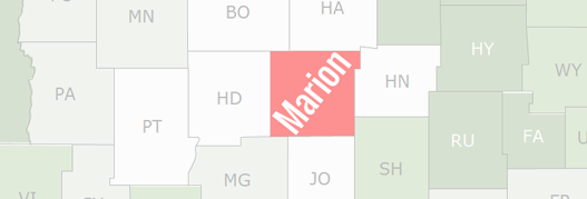 Marion County Map